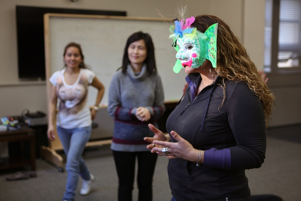Corporate theatre workshop